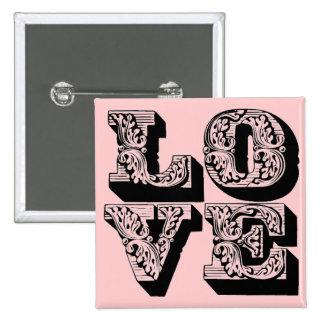 Fancy Pink Love Pin