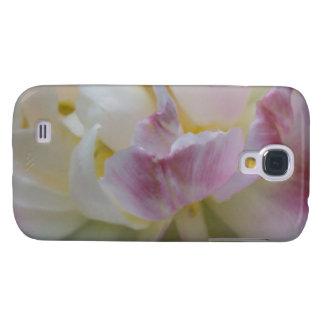 Fancy Pink Tulip Galaxy S4 Case