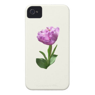 Fancy Pink Tulip iPhone 4 Case