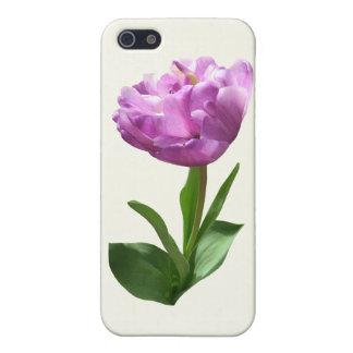 Fancy Pink Tulip iPhone 5 Cases
