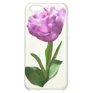 Fancy Pink Tulip iPhone 5C Cover