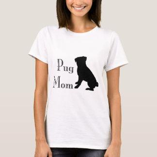 Fancy Pug Mom T-Shirt