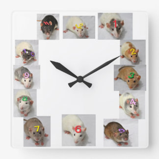 Fancy Rat Clock