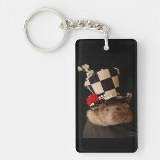 Fancy Rat Keychain