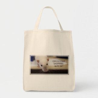 Fancy Rat Shopping Bag