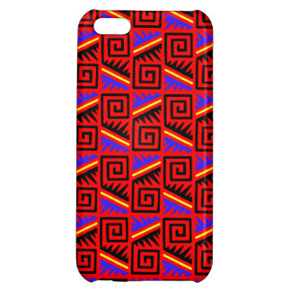 Fancy Red Mexican Pattern iPhone 5C Case