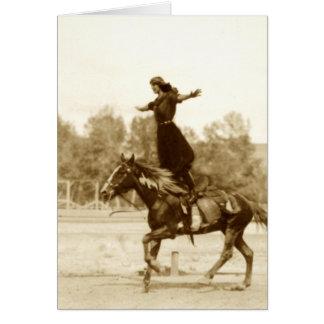 Fancy Rider Card