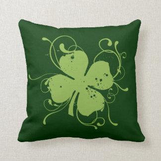 Fancy Shamrock Cushion