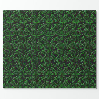 Fancy Shamrock Wrapping Paper