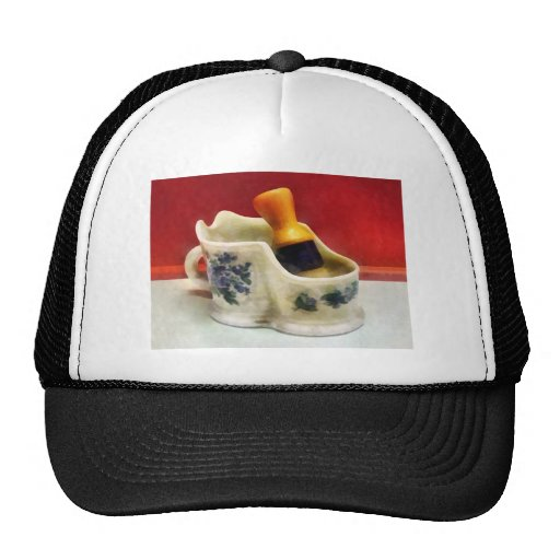 Fancy Shaving Mug Mesh Hats