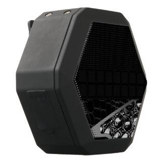 Fancy Silver Croc Leather Black Boombot Rex Bluetooth Speaker
