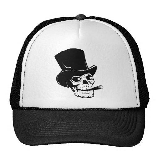 Fancy Skull Trucker Hat