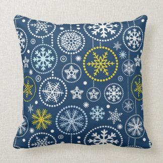 Fancy Snowflake Shower Cushion