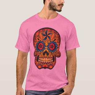 retro sugar skull clothing apparel zazzle co uk