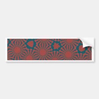 fancy tile bumper sticker