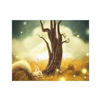 fancy tree Stretched Canvas Print