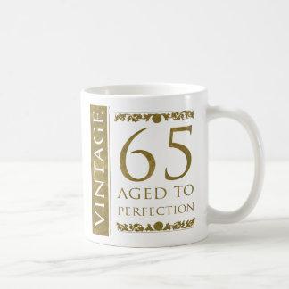 Fancy Vintage 65th Birthday Coffee Mug