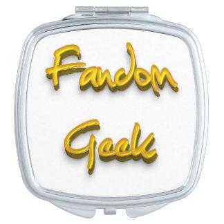 Fandom Geek Gold Vanity Mirrors