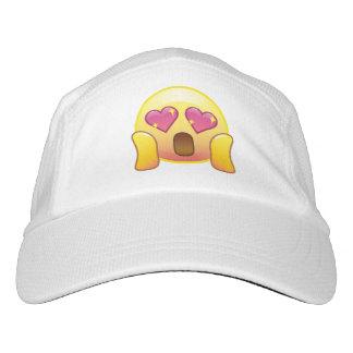 Fandom Love Excited Happy Heart Eyes Emoji Hat