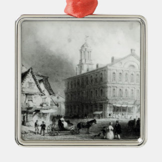 Faneuiel Hall, Boston Christmas Ornament