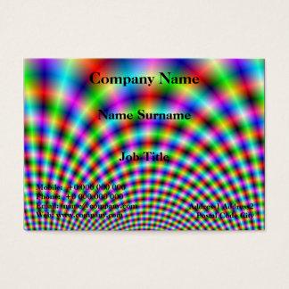 Fanfare in Neon Lights Business Card