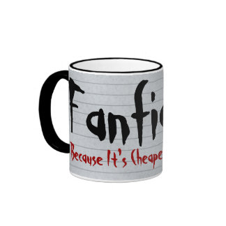 Fanfiction Cheaper Than Therapy Ringer Mug
