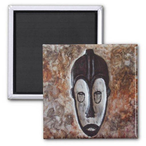 Fang African Tribal Masks_Art Gift Fridge Magnets