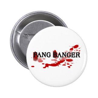 Fang Banger 6 Cm Round Badge