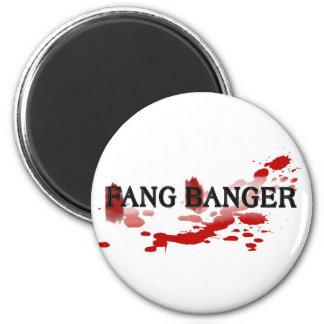 Fang Banger 6 Cm Round Magnet