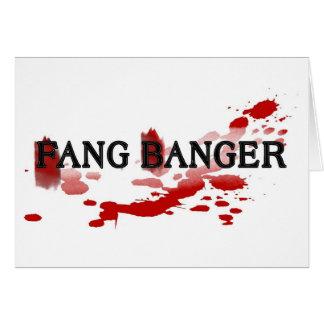 Fang Banger Greeting Card
