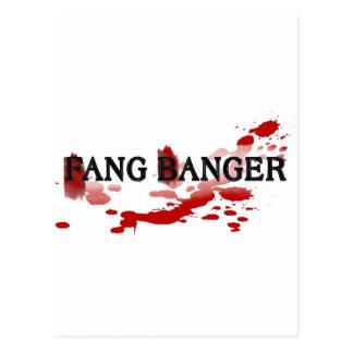 Fang Banger Postcard