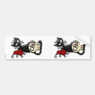 fang kitty scrapbooking stickers bumper stickers