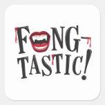 Fang-tastic! Square Sticker