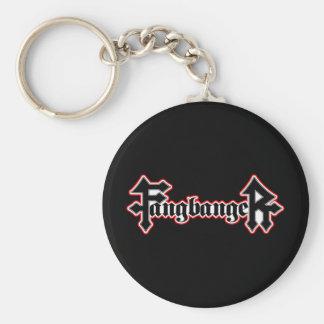 Fangbanger Vampire Halloween Key Ring