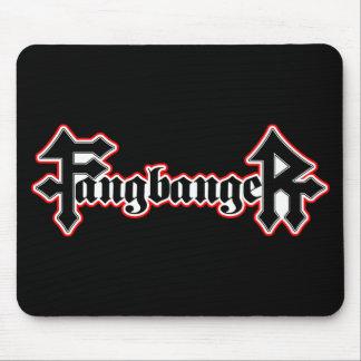 Fangbanger Vampire Halloween Mouse Pad