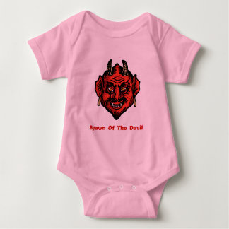 Fanged Horned Red Devil Tshirts
