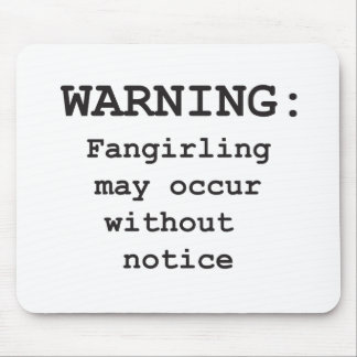 Fangirling Mouse Pad