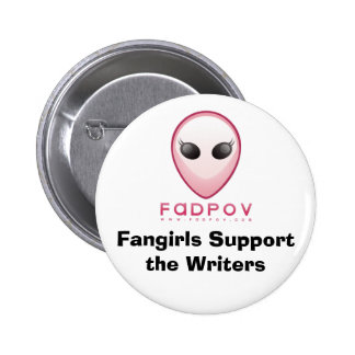 Fangirls Support the Writers button