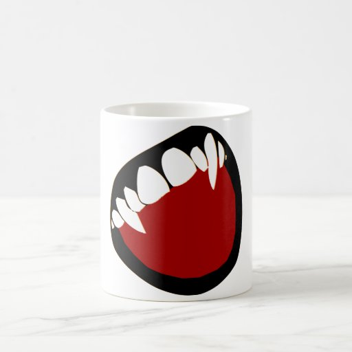 fangs coffee mugs