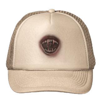 fangs mesh hats