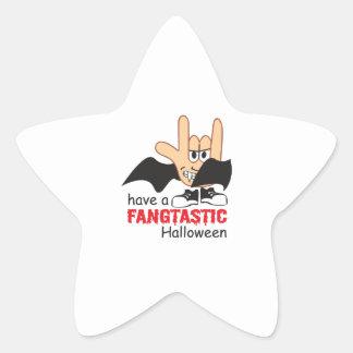 FANGTASTIC HALLOWEEN STAR STICKER