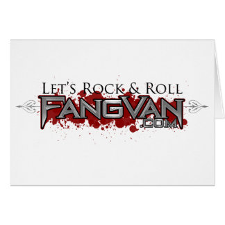 FangVan Let s Rock and Roll Official Card