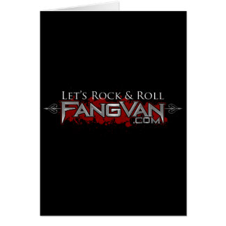 FangVan Let s Rock and Roll Official Greeting Cards