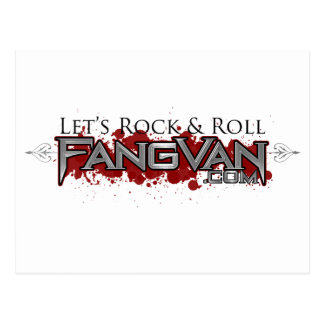 FangVan Let s Rock and Roll Official Post Cards