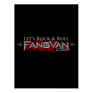 FangVan Let s Rock and Roll Official Post Card