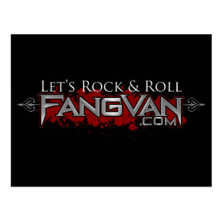 "FangVan ""Let's Rock and Roll"" Official Postcard"