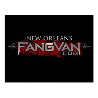 FangVan New Orleans Official Post Card