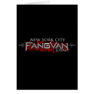 FangVan New York City Official Greeting Card