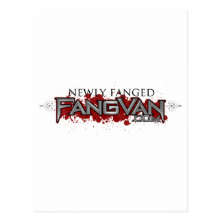 FangVan Newly Fanged Official Post Cards