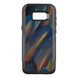 Fanned Out Scarlet Macaw Feathers OtterBox Commuter Samsung Galaxy S8+ Case